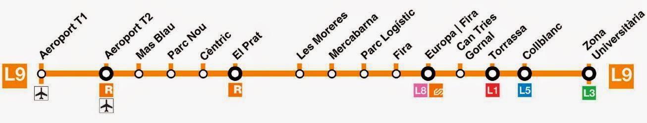 La nueva L9 del Metro Barcelona ya llega al Aeropuerto