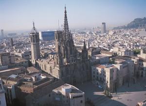 autocares-barcelona- avantgrup-catedral-vista-aeria