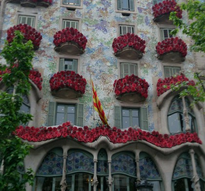 St. George's Day in Catalonia. A trip to culture