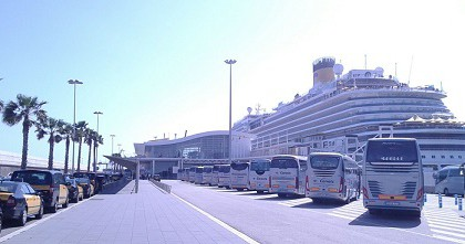 BARCELONA the first cruise destination in Europe.