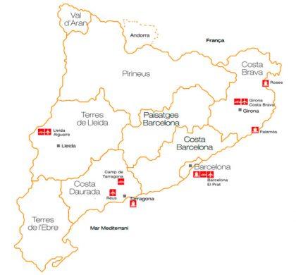 Dades del turisme a Catalunya al 2016.