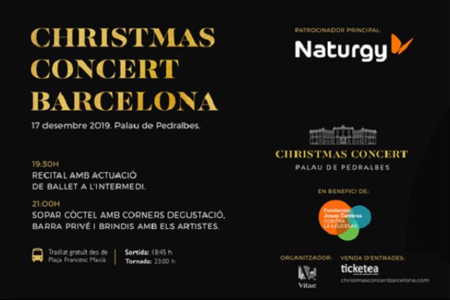 Concert Solidari de Nadal-Palau de Pedralbes